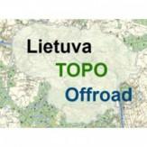 Lietuvos TOPO Offroad GPS žemėlapis (online)
