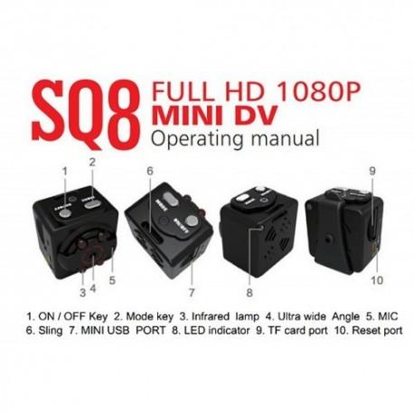Slapta mini kamera FULL HD raiška
