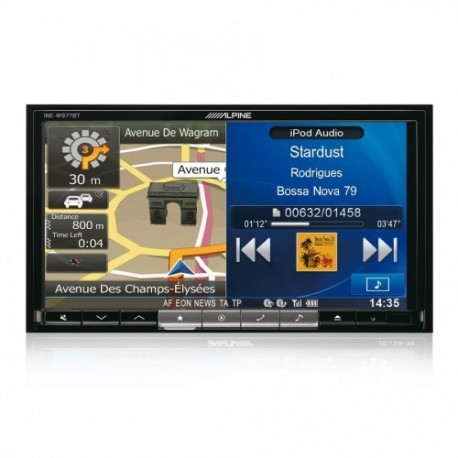 Alpine INE-W977BT Universali 2DIN Multimedia Sistema