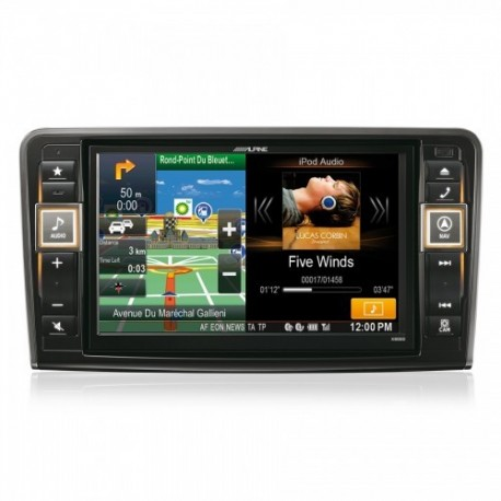 Alpine X800D-ML Multimedia Sistema Mercedes-Benz ML ir GL