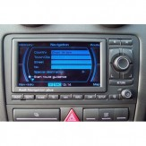 Audi Navigation Plus RNS-E Lietuvos ir Europos žemėlapiai
