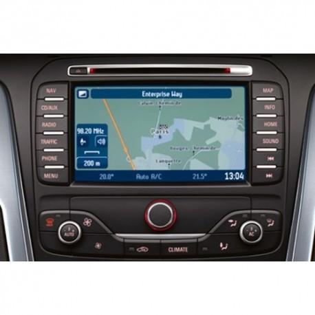 Ford MCA-2016 Rytų (Lietuvos) ir Vakarų Europos žemėlapiai