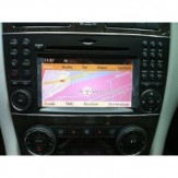 Mercedes Benz Comand Online APS NTG 2.5 Rytų ir Vakarų Europos žemėlapiai
