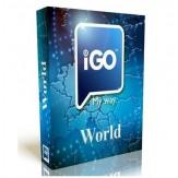 iGO Primo 2019-2020 metų viso pasaulio ir Europos žemėlapiai