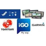 Žamėlapų atnaujinimas TomTom, Garmin, iGO, Becker ir kitiems prekiniams ženklams