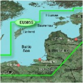 BlueChart Baltijos rytinė pakr VEU505S