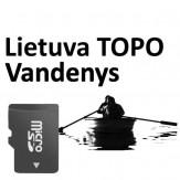 Lietuva TOPO Vandenys