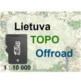 Lietuvos TOPO Offroad (microSD)